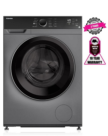 TOSHIBA TW-BJ90M4GH(SK) - 8.0 Kg Automatic - Front Load Washing Machine
