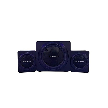 TAGWOOD MP-8117 High End Hi-Fi Multimedia 2.1 Subwoofer With Bluetooth & FM Radio RMS 50W.