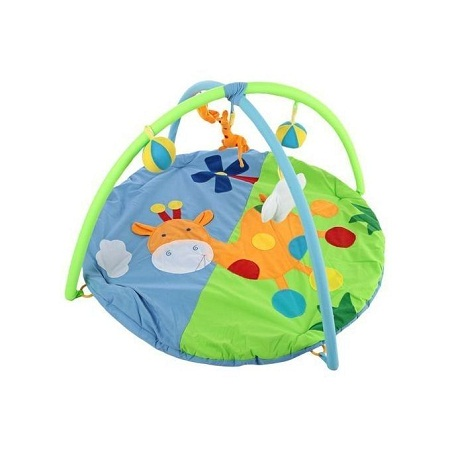 Baby Soft Play Mat Deer Gym Blanket With Frame