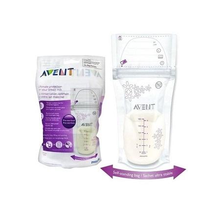 Breastmilk Storage Bags 180ML (Pack Of 25)