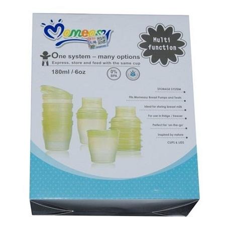 Multi functional Breast Milk Food Feeding System Storage Cups