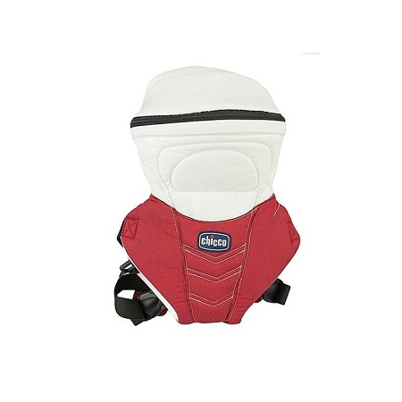 Red/White Chicco DESIGNER Baby Carrier (3.5 kg to 9 Kg)