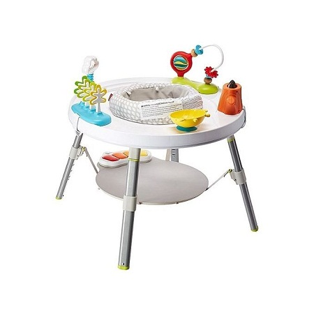 Skip Hop Explore and More Baby's View 3-Stage Activity Center/Bouncer, Multi, 4 Months