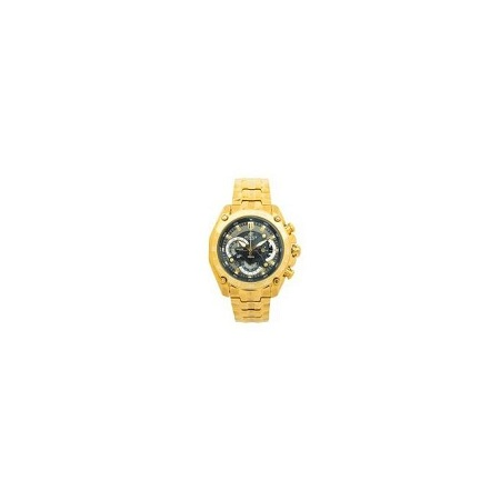 Casio Gold EF550 Metallic Strap Watch