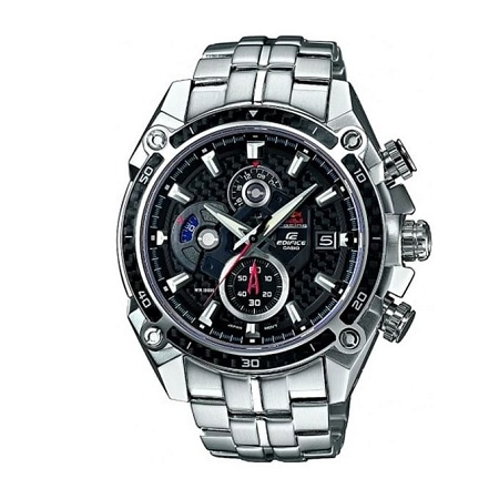 Casio White Dials With Silver Steel Straps Watch