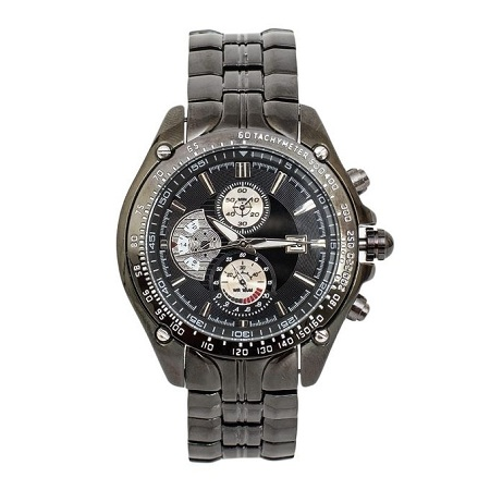 Curren Black Dial Chronograph Watch