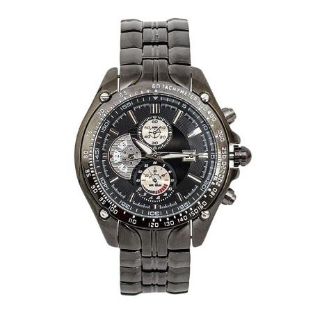 Curren Black Dial Chronograph Watch