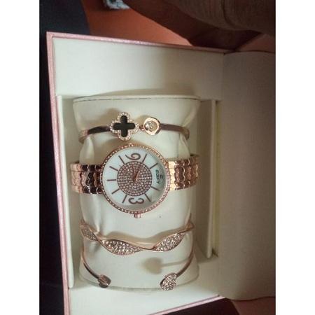 Fashion Edify Fashion gift Set watch + bracelets