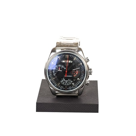 Fashion Grand Chronograph Watch with silver stainless straps