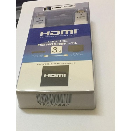 Generic HDMI Cable 3Meters - White