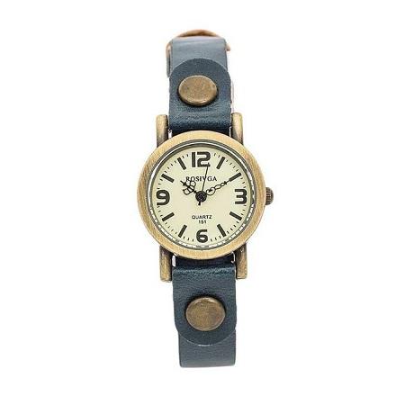 Rosivga Blue Strap Watch
