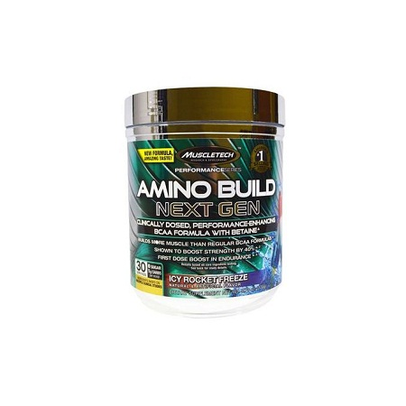 Amino Build Next Gen Energy for Muscle Strength & Endurance- 30 Serving