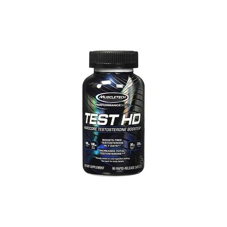 Muscletect Test HD, Testosterone Booster Supplement, 90 Count