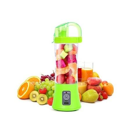 Portable Blender Juicer Cup / Electric Fruit Mixer / USB Juice Blender - Green