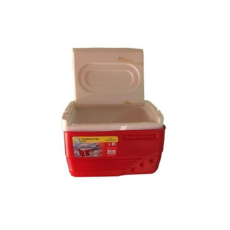 Princeware Cooler Ice Box Chest 6 Litres - Red & White