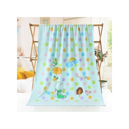 1st Impression Baby Towel Cotton Cartoon Animal Baby Bath Towel Bathrobe for Kid Soft Breathable Towels Infant Shower Product