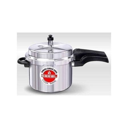 Saral Aluminum Pressure Cooker - 10 Litres