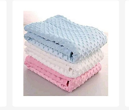 Supper Soft, Large and Comfortable Baby Shawls / Receiving Blankets-pink