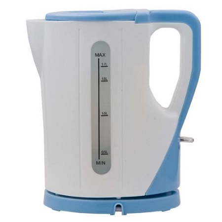 Ramtons RM/325- Cordless Kettle Aqua 1.7 Lts - White & Blue
