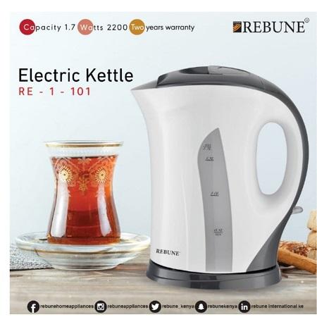 Rebune Electric Kettle White-Re1101