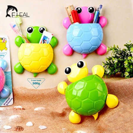 Turtle Baby Tooth Holder Only Green Back