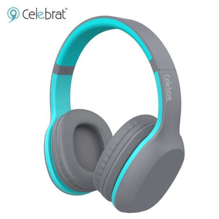 Celebrat A18 Wireless Bluetooth Headphones With Extra Bass
