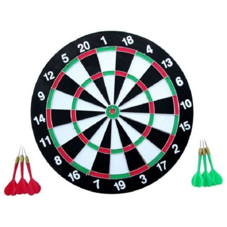 Dartboard With All-New Thinner Wiring For Higher Scoring And Reduced Bounce-Outs