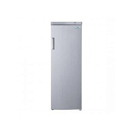 Solstar UF2200SLV SS: Upright Freezer - 8.00 Ft³ - Silver