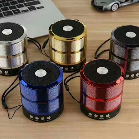 UNIVERSAL WS-887 - Mini Bluetooth Wireless Stereo Speakers FM, Memory Card, Bluetooth, USB