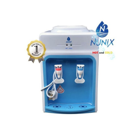 Nunix Hot And Cold Water Dispenser Table Top K3C Blue