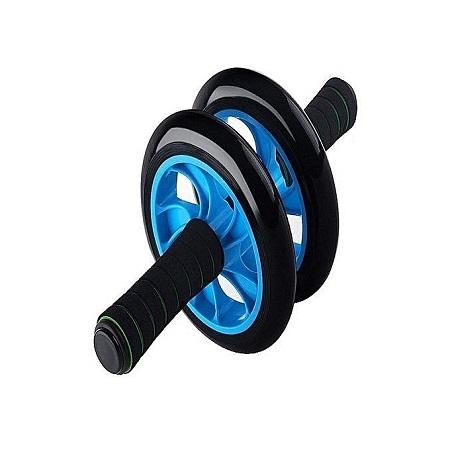 Rubber Roller Double Wheel - Black & Blue