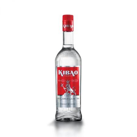 Kibao Vodka (40% Alcohol Content)- 750ml