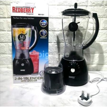 Redberry 2 In 1 Blender - 1.5 L - Black