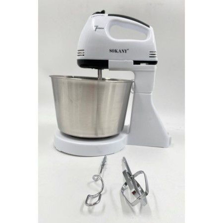 Sokany Hand Mixer + One Stand With Bowl