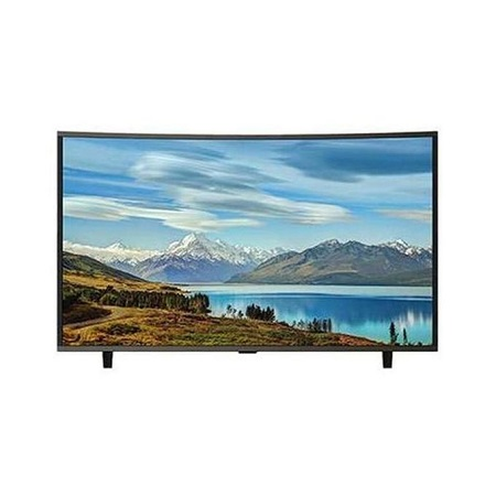 Vision Plus VP8843C - 43 Inch- FHD Smart Curved Android LED TV Black + FREE Wall Mount