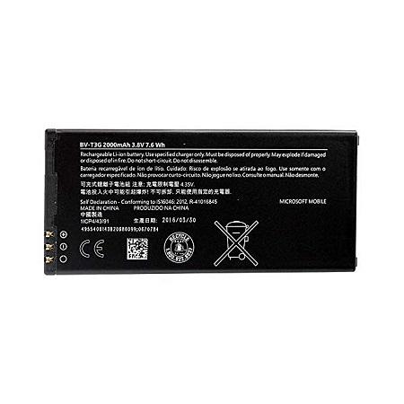 BV-T3G for Nokia Microsoft LUMIA 650 Batteries – Black