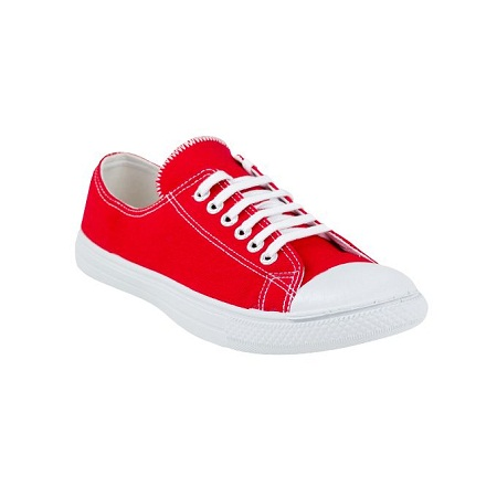 UMOJA Amka Red Canvas shoes