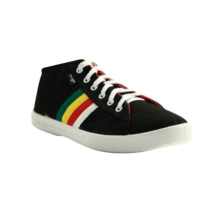 UMOJA Rockstar Black Canvas Shoes