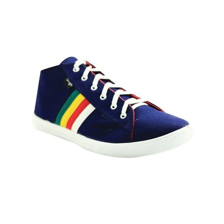 UMOJA Rockstar Blue Canvas Shoes