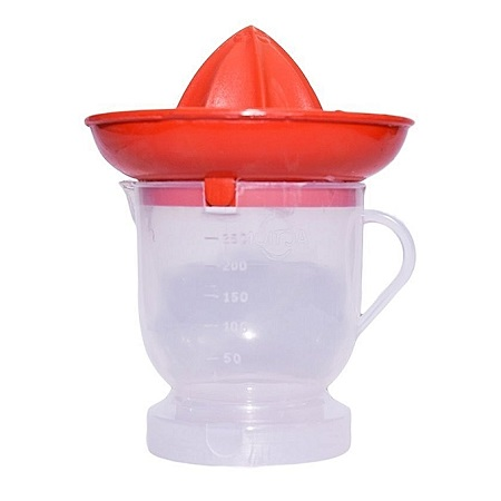 Actionware Orange Juicer with Jug - Red