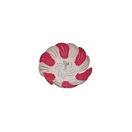 Foldable Fruit Tray - Pink & White