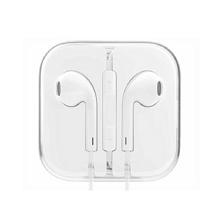 Upendo In-Ear Headset for iPhone & Android Devices - White