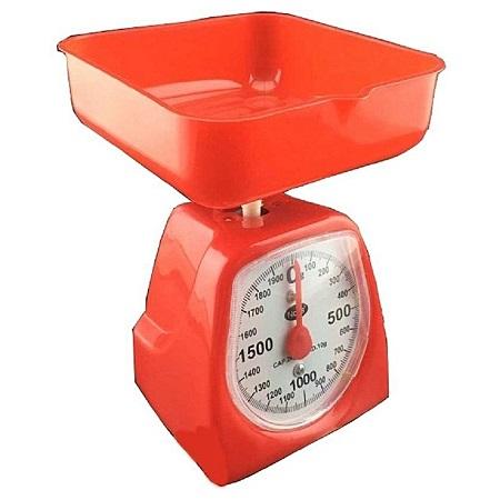 Mini Kitchen Scale-Red