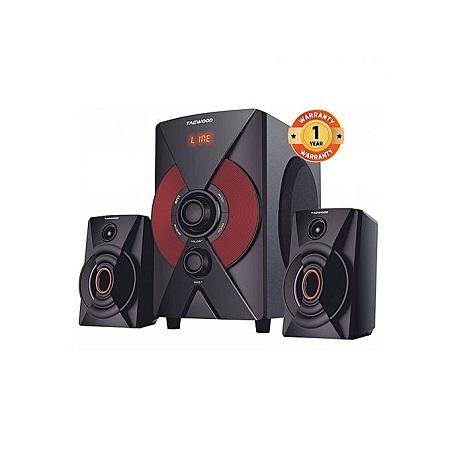TAGWOOD MP-2174 Subwoofer MP3 Bluetooth FM Radio Black PMPO: 5500W