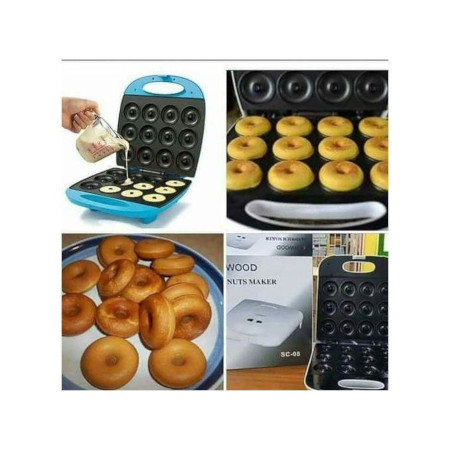 12 Pieces Electric Doughnut/Donuts Maker