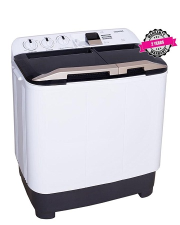 TOSHIBA VH-J80WGH 7 Kg Top Load - Twin Tub Washing Machine