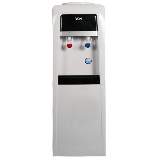 Von VADA2110S Water Dispenser Hot & Normal with Cabinet - Silver/Black