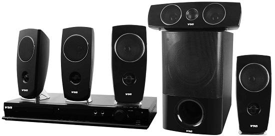 Von VEH400SAP Home Theatre 400W RMS, Satellite Speakers, Bluetooth