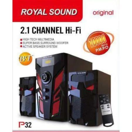 Royal Sound Subwoofer MultiMedia System-FM-USB,Bluetooth10000w