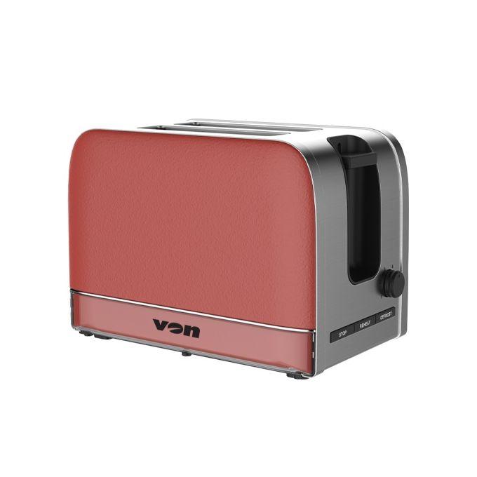 Von VSTP02PVR Premium 2 Slice Toaster